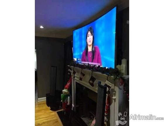 Téléviseurs Intelligents Android Samsung curve UHD Premium