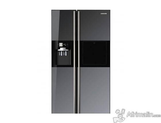 Réfrigérateur Side by Side Samsung RS21HFLMR - Miroir