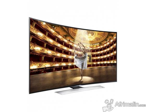 "Samsung TV Incurvé LED 65"" UN65HU9000 Full HD - Noir"