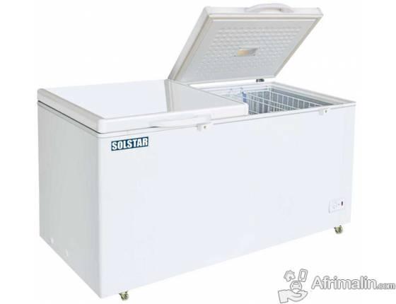 Congélateur Coffre 520L SOLSTAR CF-520EDF SS - Blanc