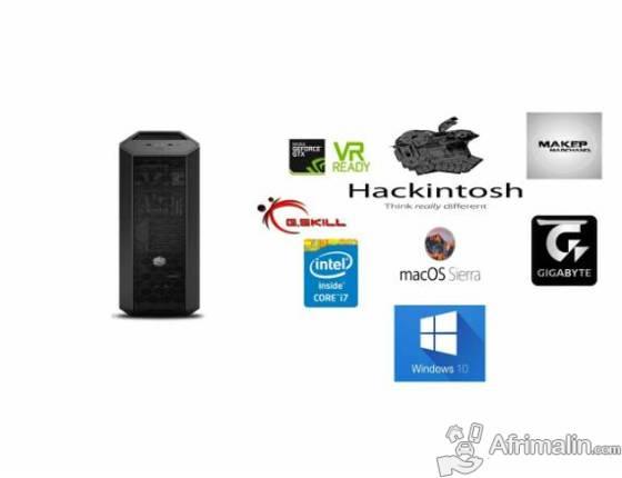 Hackintosh - macOS Sierra 10 12 6 + Windows 10 Pro en DUAL BOOT