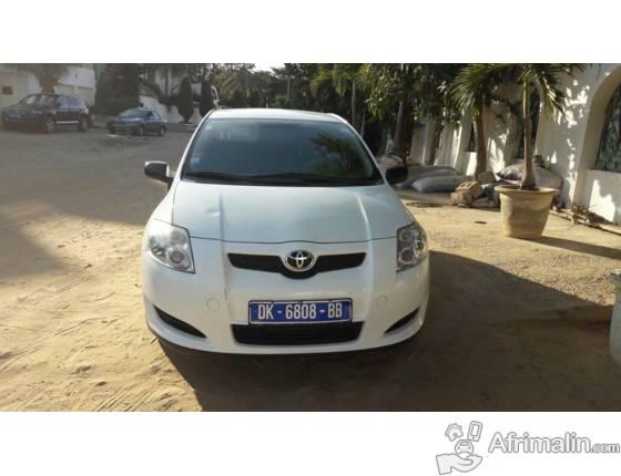 Toyota Auris diesel manuelle 2 portes 2009