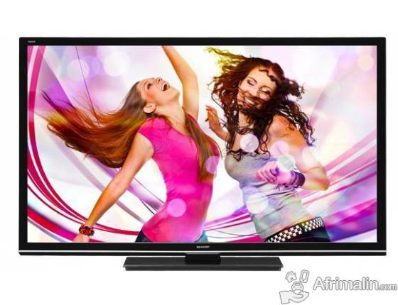 "Full HD LED Aquos 50"" SHARP LC-50LE440M"