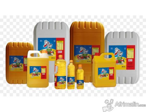 huile de palme et autres huiles de cuisson en stock