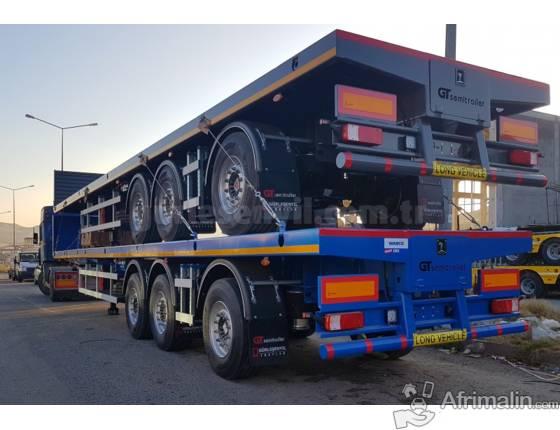 Semi Remorque Cargo (Plate-forme)