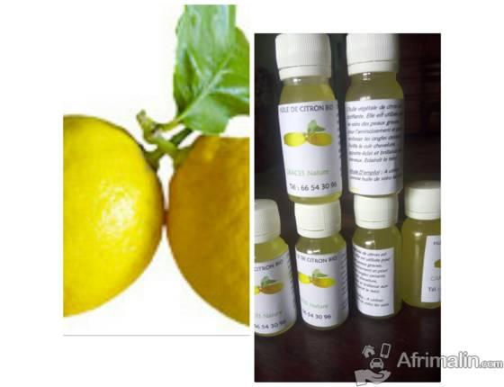Huile de citron Bio