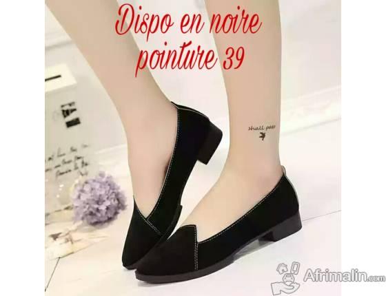 Chaussure en cuir pour femme