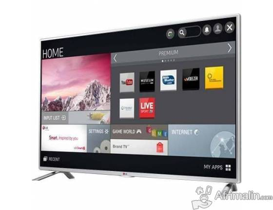 "Smart TV 55"" WebOS 2.0 LG 55LF63"