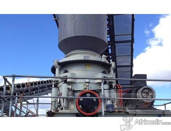 40-60 T/H Station de concassage pour gravier
