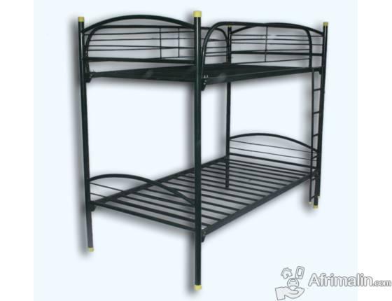 lit superpos en fer forg deux places douala r gion de littoral cameroun meubles sur. Black Bedroom Furniture Sets. Home Design Ideas