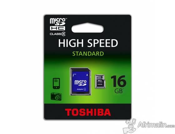 Toshiba carte Micro SDHC 16Go