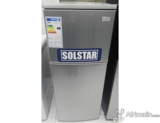 Réfrigérateur 200L SOLSTAR RF200 - Gris