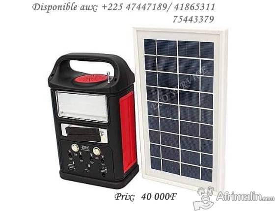 Kit solaire lumineux