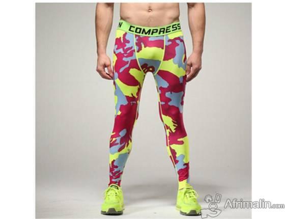 Pantalon style crayon pour détente ou sport.