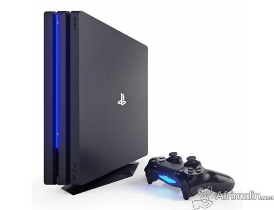 Unbox New Sony PlayStation 4 Pro Console - Jet Black