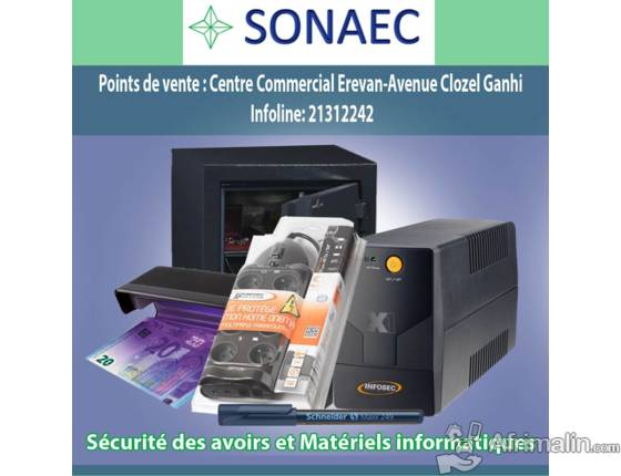 La SONAEC pour une gamme variée de produits