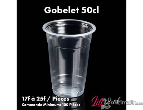 Gobelet en plastique 500ml