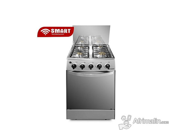 Cuisinière à gaz 4 feux Smart technology nouveau