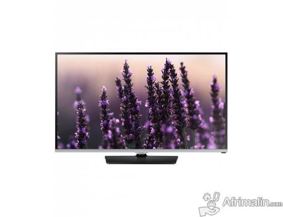 """Samsung TV LED 48"""" Full HD 48H5100, Lecteur DVD E360K Support Mural GX243 -Noir"""