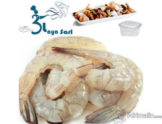 Fruis de mer Sénégal