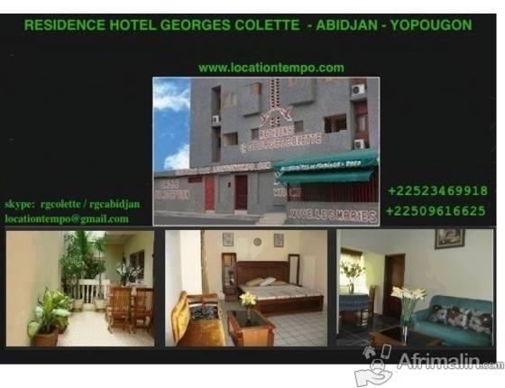 APPARTEMENT 2 PIECES MEUBLE DE VACANCES - Abidjan