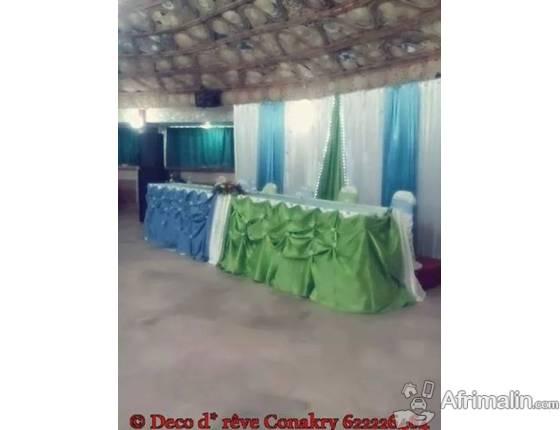 services de decoration des ceremonies