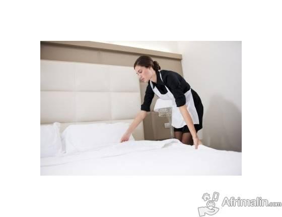 Recherche emploi de gérante entretien de bureau femme de chambre