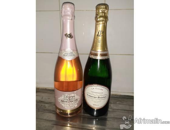 Bouteilles de Champagnes en vente