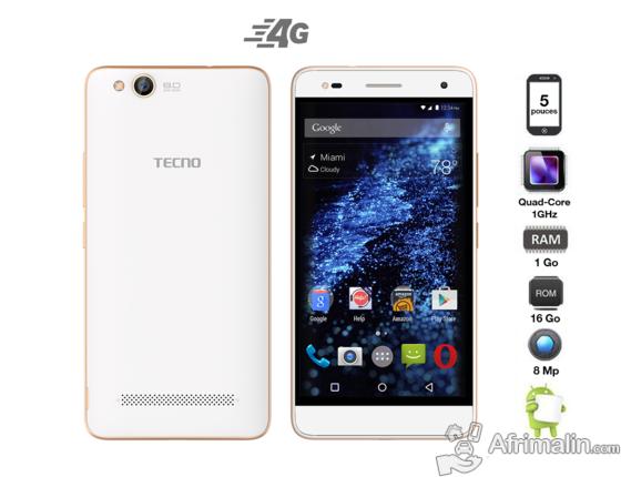 Tecno N9 4G Mémoire 16Go Ram 1Go (NEUF)
