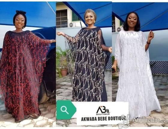Robes  disponibles