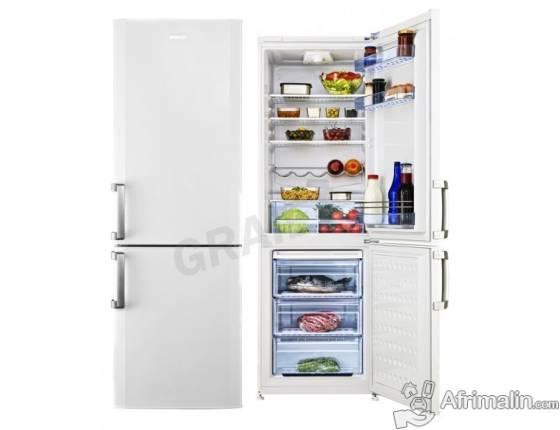 Réfrigérateur Combiné 370L BEKO CS 137010