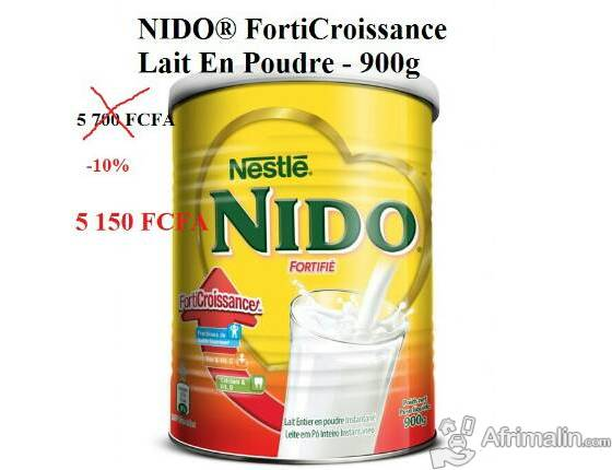 Lait NIDO FortiCroissance