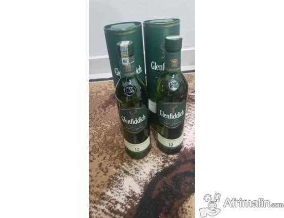 Boisson:  Whisky Glenfiddich 12 ans