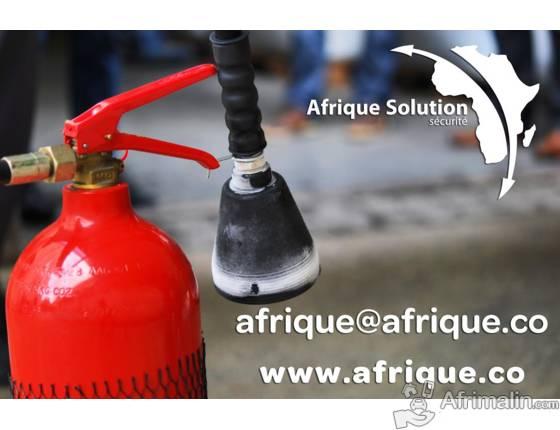Afrique extincteur Maroc / Exportation extincteurs