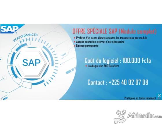 Formation SAP - Achat Logiciel SAP