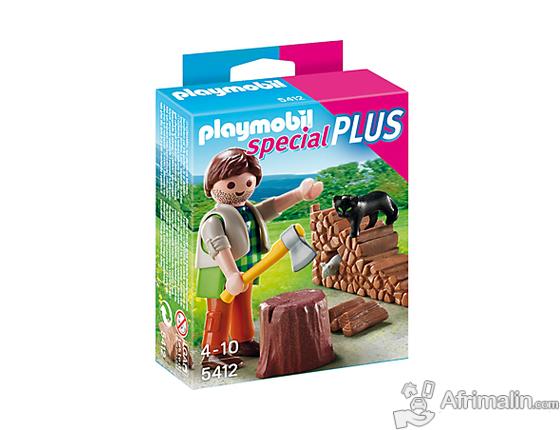 Playmobil - 5412 - Figurine - Bûcheron