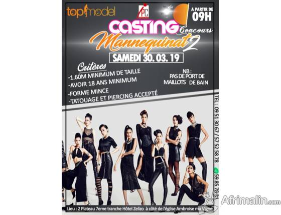CONCOURS TOP MODEL