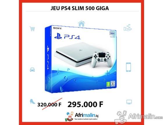 PS4 500 Go Slim
