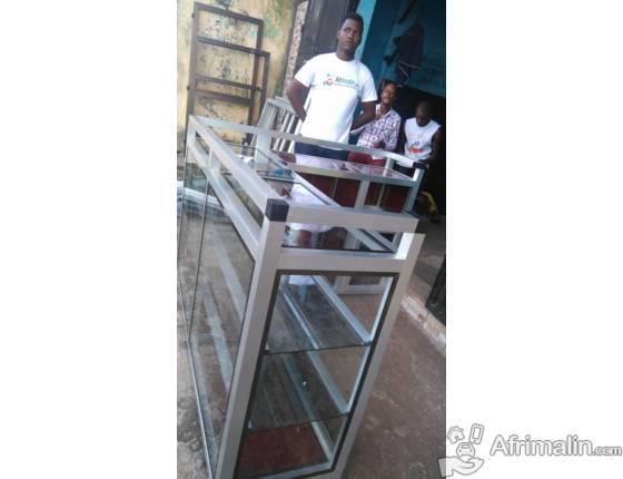 etagere metal usage a vendre