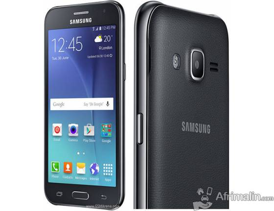 "SAMSUNG Galaxy J2 Noir - 4.7"" - Double SIM - 8Go - RAM 1Go - 5MP"