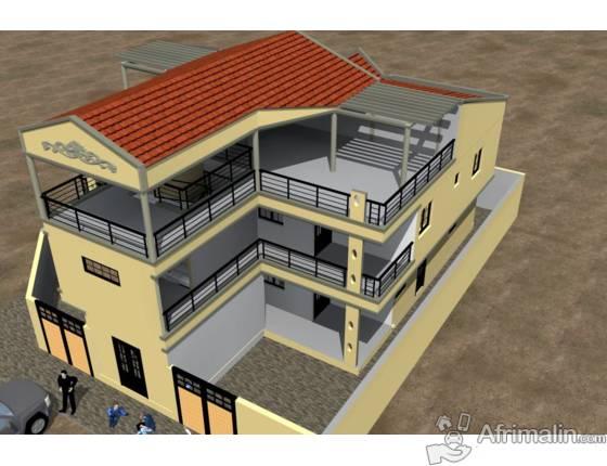 BTP SARL le seul qui peut réussir vos plans de maisons