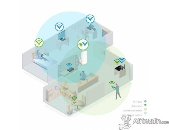 TP-Link – Répéteur Wi-Fi AC750