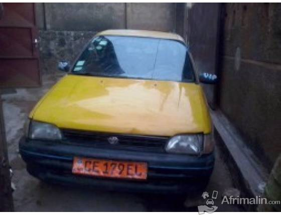 toyota starlet taxi vendre douala r gion de littoral cameroun voitures sur afrimalin. Black Bedroom Furniture Sets. Home Design Ideas
