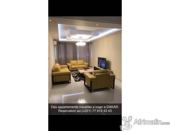 *Des appartements meublés de luxe a louer