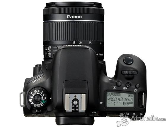 CANON EOS 77D + OBJECTIF EF-S 18-55MM