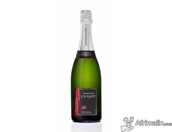 Champagne J.M. RIGOT, Cuvée conviviale par excellence, robe délicate