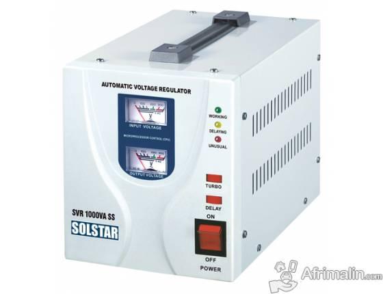 Régulateur automatique de tension 1000VA SOLSTAR SVR 1000VA SS