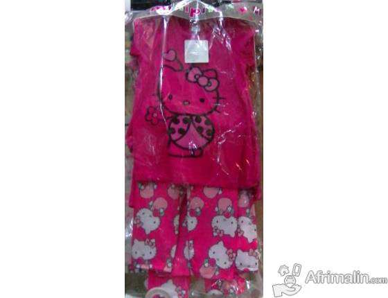 Ensemble 2 pieces Hello Kitty Rose