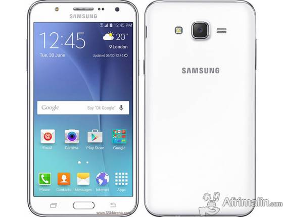 "SAMSUNG Galaxy J5 Blanc - 5"" - Double SIM - 8Go - RAM 1,5Go - 13MP"
