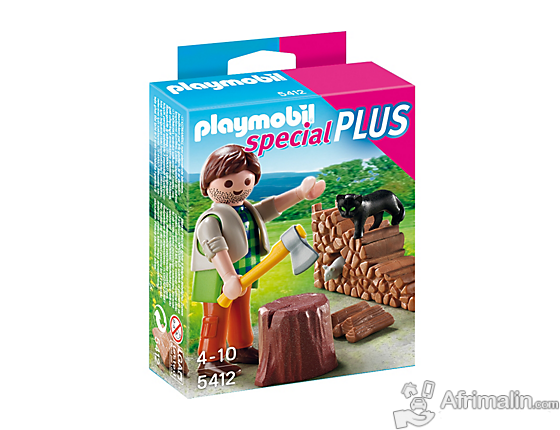 Playmobil - 5412 - Figurine - Bûcheron